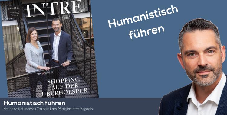Unser Trainer Lars Rättig mit einem aktuellen Beitrag in dem Magazin Intre